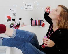 Collection Espiègleries créée par Souris à plumes et inspirée des défilés Sonia Rykiel Sonia Rykiel, Collection, Style, Feathers, Computer Mouse, Swag, Outfits