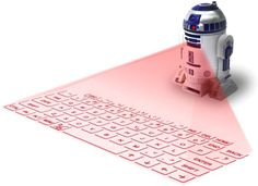Star Wars R2D2 Virtual Keyboard - Let The Force Help You Type Better by @thinkgeek - http://coolpile.com/gadgets-magazine/star-wars-r2d2-virtual-keyboard-let-force-help-type-better via coolpile.com  #Android  #Apple  #Bluetooth  #Commute  #Cool  #Design  #iPhone  #Keyboard  #Laptops  #Laser  #Office  #R2D2  #Rechargeable  #StarWars  #Windows  #coolpile  #gadgets