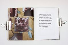 Human Trafficking Issue Book by Sabrena Deal, via Behance