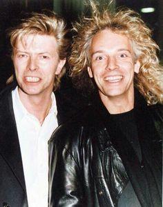 David Bowie & Peter Frampton
