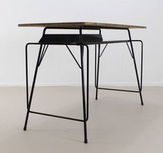 Shop desks and writing tables and other modern, antique and vintage tables from the world's best furniture dealers. Vintage Desks, Vintage Table, Table Furniture, Cool Furniture, School Desks, Modern Desk, Writing Desk, Belgium, Tables
