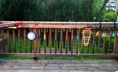 Musical Deck Rail