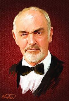 Sean Connery by shahin
