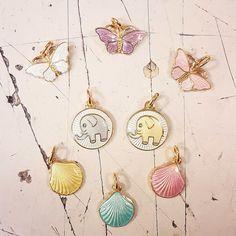 Rufsa barnesmykker i sølv og emalje fra Opro - norske emaljesmykker Barn, Pendant Necklace, Drop Earrings, Jewelry, Jewlery, Jewels, Jewerly, Jewelery, Warehouse