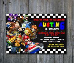 57 Best Mario Kart Fiesta 5años Images Birthday Party Ideas