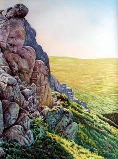 Parez granítica, 1996, 70x50 cm. Adriano Paz Martinez