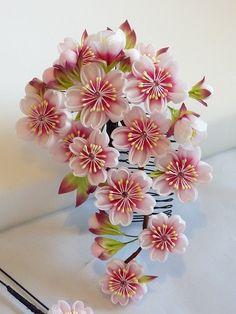 乙女桜のかんざし