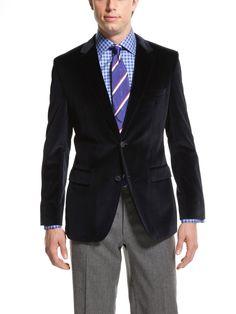 Boss Black velvet blazer $595