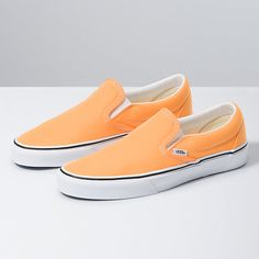 Find womens neon shoes at Vans. Shop for womens neon shoes, popular shoe styles, clothing, accessories, and much more! Neon Vans, Neon Shoes, Cute Shoes, Trendy Shoes, Girls Sneakers, Vans Sneakers, Slip On Sneakers, Converse, Orange Vans