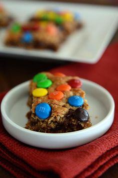 Monster Cookie Bars | Mel's Kitchen Cafe
