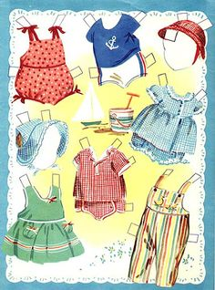 Paper Dolls~Baby Brother & Sister - Bonnie Jones - Picasa Web Albums