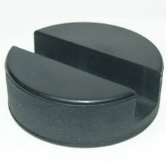 This is the core of our company, a completely indestructible, cell phone holder crafted from a genuine hockey puck!