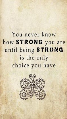 Be strong ~ leukemia quote