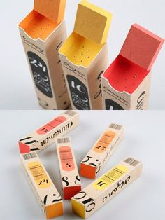 Inspirational Packaging for Web DesignersYou can find Spices packaging design and more on our website.Inspirational Packaging for Web Designers Spices Packaging, Packaging Box, Food Packaging Design, Print Packaging, Branding Design, Coffee Packaging, Smart Packaging, Candle Packaging, Product Packaging