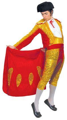 b77cfb1ef97 Mens Sequinned Matador Fancy Dress Costume. Spanish ...