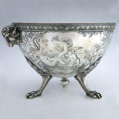TIFFANY & Co. 1850's Neoclassical Silver Centerpiece  New York City, United States  Circa 1850s
