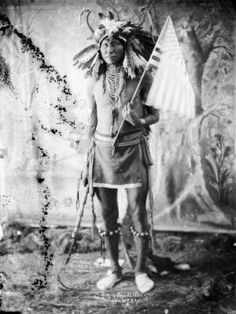 Chief Stinking Bear a leader of the friendly Indians at P.R. Agc. S.D. :: Sioux
