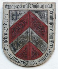 Aufschwörschild in St. Jakob zu Nürnberg
