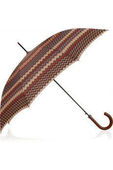 Missoni printed automatic umbrella - wow!