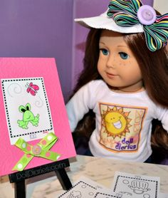 Camp Doll Diaries – Laura Kelly Mini Doodle Pages