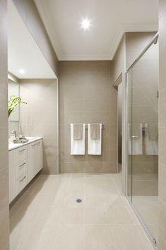 4330 Ginger™ - Ichijo Homes 4330 Ginger Ønsker disse nydelige beige flisene til gulvet Bathroom Remodel Cost, Bathroom Renovations, Bad Inspiration, Bathroom Inspiration, Large Bathrooms, Small Bathroom, Beige Tile Bathroom, Interior House Colors, Bathroom Interior
