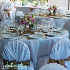 #Ambientación #fiesta de #casamiento en #Tandil