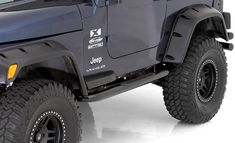 Smittybilt Sure Steps for Jeep Wrangler TJ Jeep Cj, 1998 Jeep Wrangler, Jeep Rubicon, Jeep Grill, Fender Flares, Things That Bounce, Vehicles, Black, Products