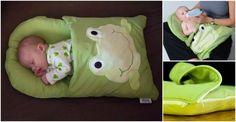 DIY Baby Pillowcase Sleeping Bag Tutorial(Video) #craft #forbaby