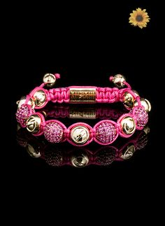 Pink Obsession #pink #obsession #bracelet - http://www.twelvethirteen.com/summer-collection