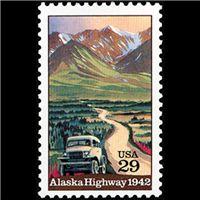 1992 29c Alaska Highway Mint Single ($0.85)