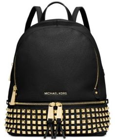 MICHAEL Michael Kors Rhea Studded Backpack | macys.com