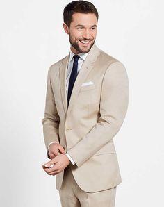 The Black Tux Tan Suit Wedding Tuxedos + Suit photo