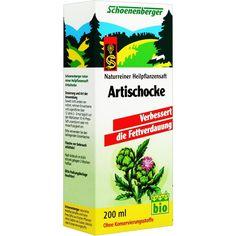 ARTISCHOCKEN syrup Schönenberger:   Packungsinhalt: 200 ml syrup PZN: 00692038 Hersteller: SALUS Pharma GmbH Preis: 4,68 EUR inkl. 19 %…