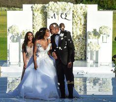 First Look At Minnie Dlamini & Quinton Jones' Fairytale Wedding Wedding Looks, Dream Wedding, Gatsby Wedding, Zulu Traditional Wedding, Wedding Bells, Wedding Ceremony, 25th Wedding Anniversary Cakes, African American Brides, Cinderella Wedding