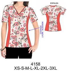 Temporada Corporate Uniforms, Staff Uniforms, Office Uniform For Women, Scrubs Pattern, Scrubs Uniform, Old T Shirts, Holiday Outfits, Fashion Sketches, Dressmaking