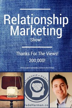 200,000 views and downloads on the Relationship Marketing show.  Your source for social media, content marketing and blogging tips!  Thanks guys for making this happen!