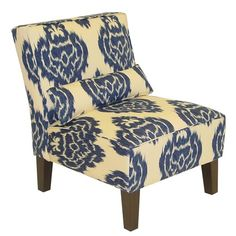 I pinned this Diamonds Ikat Chair from the Southern Hospitality event at Joss & Main!