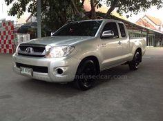ขายรถกระบะ TOYOTA HILUX VIGO โตโยต้า ไฮลักซ์ วีโก้ รถปี2011 สีเทา