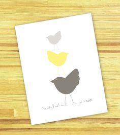 Stack o' Birds print