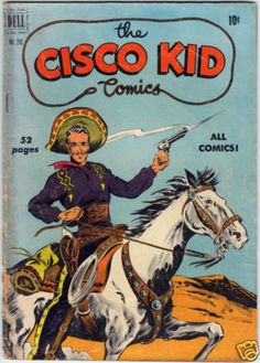 THE CISCO KID COMICS FOUR COLOR 292 DELL 1950  https://www.facebook.com/groups/64439729135/