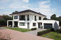 Walmdach Moderne Architektur stadtvilla modern haus evolution 148 v3 bien zenker