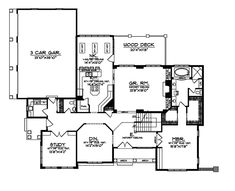 Lily Lake Luxury Home Plan 051S-0023 | House Plans and More