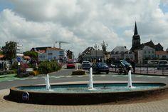 Saint-Gilles-Croix-de-Vie, (85)  trois jets d'eau