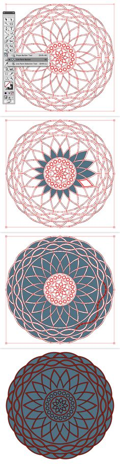 Quick Tip: How to Create a Two Color Mandala with a Pattern Brush   Vectortuts+