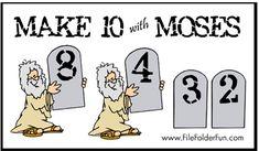 Moses File Folder Game