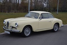 1954 Alfa Romeo 1900 CSS Berlinetta with coachwork by Carrozzeria Touring Superleggera of Milan.