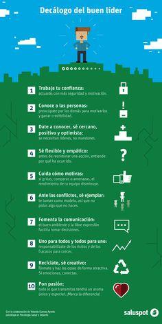 Decálogo del líder, de Yolanda Cuevas Ayneto