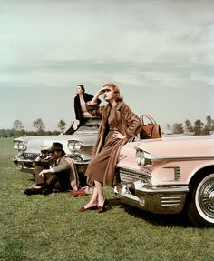 (c) John Rawlings, VOGUE Archive Collection, Cadillac, 1957 / 2015 © www.lumas.com #lumas