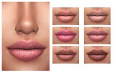 Leah Lipstick - FROST SIMS 4