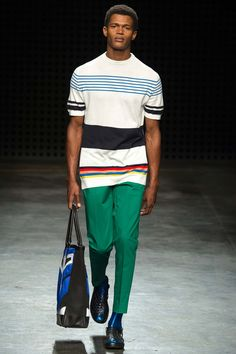 candy stripes // Casely-Halford SS 2016 #menswear #simplydapper #stylish